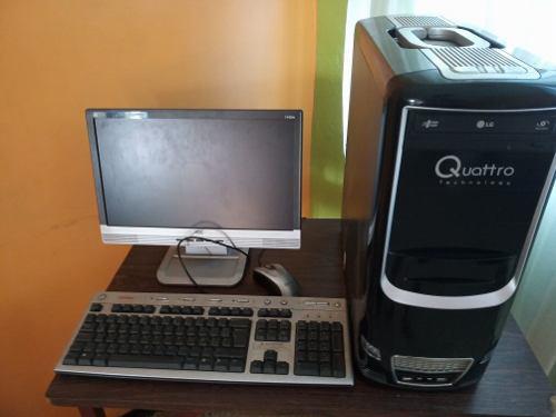 Se vende computadora con cpu core 2 duo leer descripción