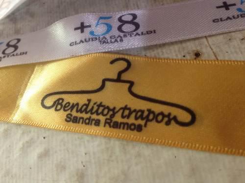 Sencamer etiquetas ropa calsado sublimacion estampado bordad
