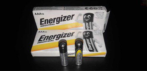 10 Pilas Alcalinas Energizer Industrial Aa