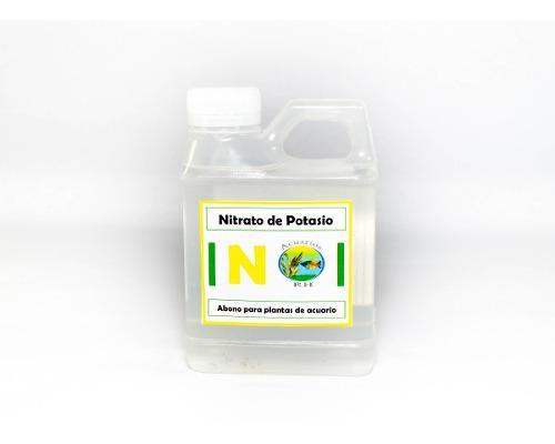Abono liquido nitrato de potasio 250 ml acuarios plantados