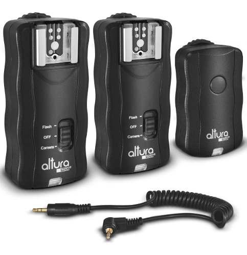 Altura photo wireless flash trigger para canon