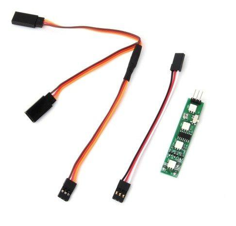 Antena luz junta led freno para cr qav250 multicopters c4qd