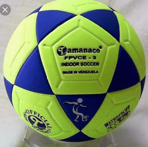 Balón futbolito #3 bote bajo tamanaco