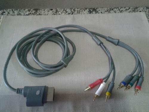 Cable Componente Audio Y Video Hd Xbox 360.