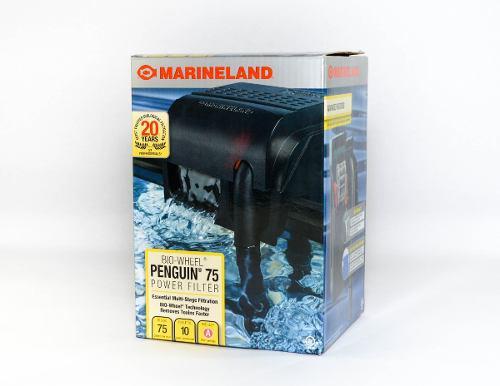 Filtro De Cascada Marineland Penguin 75 Acuario Hasta 10 Gal