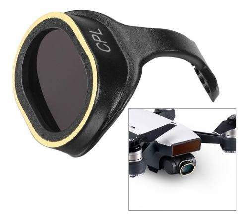Filtro lente cpl hd avione no tripulado para dji spark 0du7