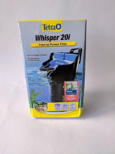 Filtro sumergible-cascada tetra whisper 20i acuarios 80 ltrs