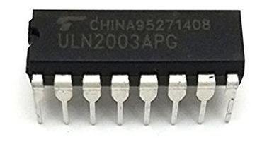 Integrado uln2003 uln2003apg 2 piezas