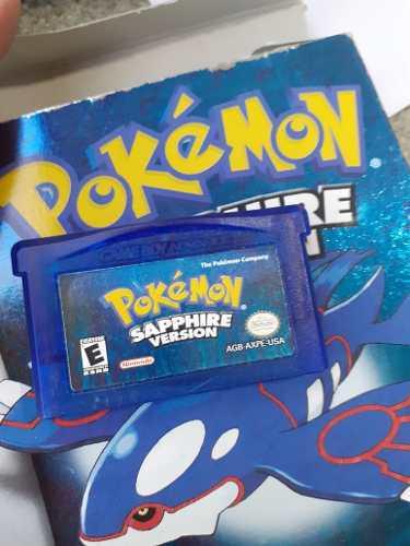 Juego Original Pokemon Sapphire Version Gameboy