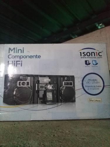 Minicomponente hifi nuevo en su caja
