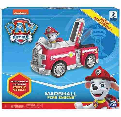 Paw patrol marshall bombero vehículo y figura original
