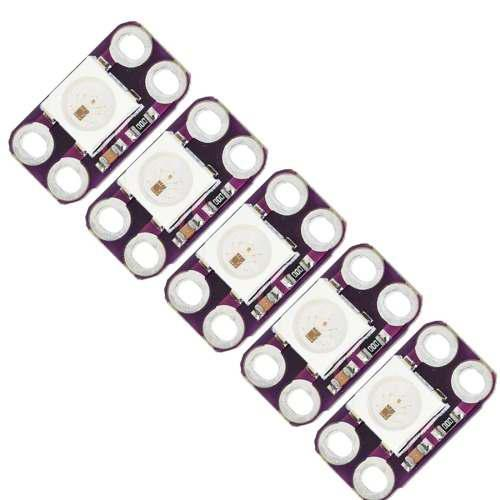 Pcs ldtr modulo luz led rgb lb wsb purpura 04ny