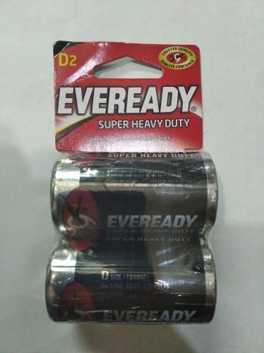 Pilas Tipo D Eveready Heavy Duty