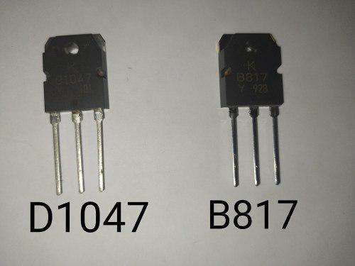 Transistores B817,d1047