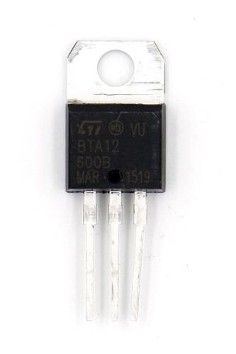 Triac Bta12-600 Bta12-600b Triac 12a 600v To220