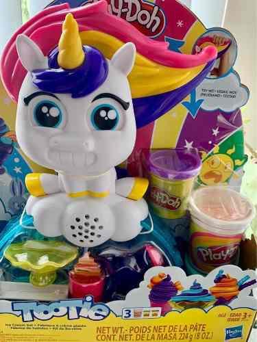 Unicornio heladería de play doh