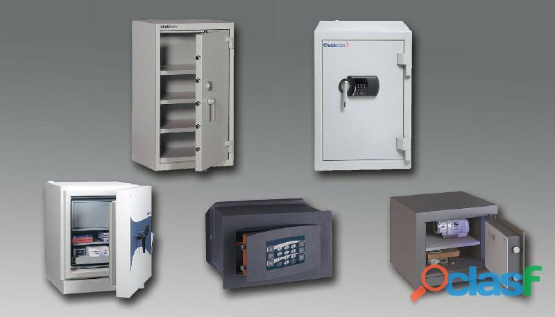 Servicio de cajas fuertes, bóvedas y equipos de seguridad sc.