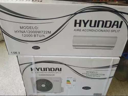 Aire acondicionado hyundai 12.000 btu