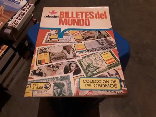 Album Billetes Del Mundo.reyauca 1980 (faltan 14 Barajitas)