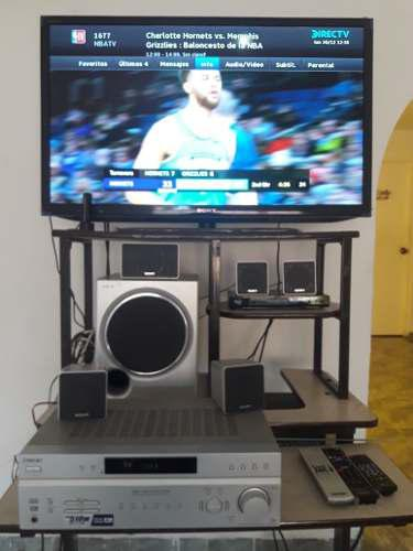 Combo tv sony hd 42 directv home theater y bluray