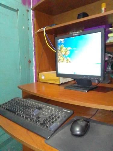 Computadora Lenovo Incluye Mesa E Impresora Hp(85v)