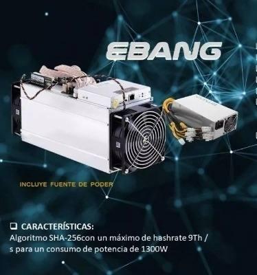 Egban Ebit E9+ 9.5th/ S + Power Supply Minero Btc
