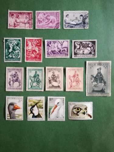 Estampillas belgica (series variadas) 1941-1944-1960-1972