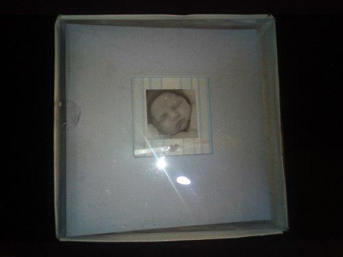 Hermoso Album Para Bebes, Azul Cielo, Ideal Para Regalo