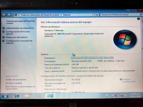 Laptop Hp Dv2000 Pantalla