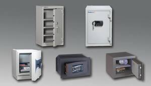 Servicio de Cajas fuertes, bóvedas y equipos de seguridad