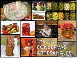 Taller conservas saladas, chutney, antispastos y encurtifods