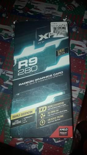 Tarjeta de video xfx r9 280x gaming 3gb ddr5