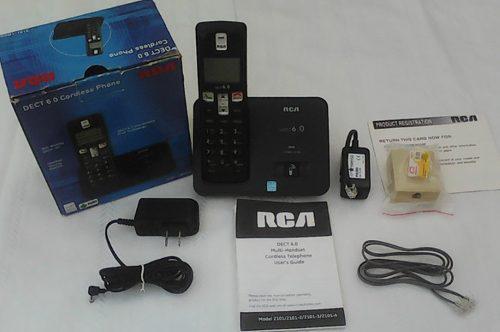 Telefono Inalambrico Rca Dect 6.0 Compatibles Con Audifonos
