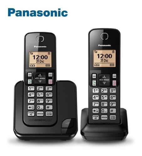 Teléfono Inalambrico Fijo 2 Auriculares Panasonic