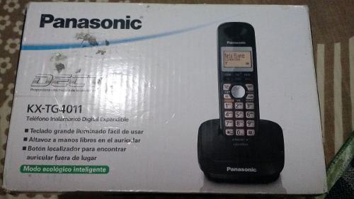 Teléfono Panasonic Modelo Kx-tg4011 Inalambrico