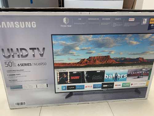 Tv samsung smart tv uhd 4k de 50 pulgadas serie nu 6950