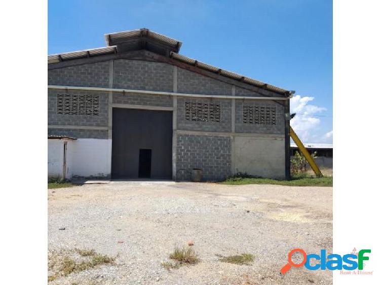 C.algarra vende galpon zona industrial rah 20-610