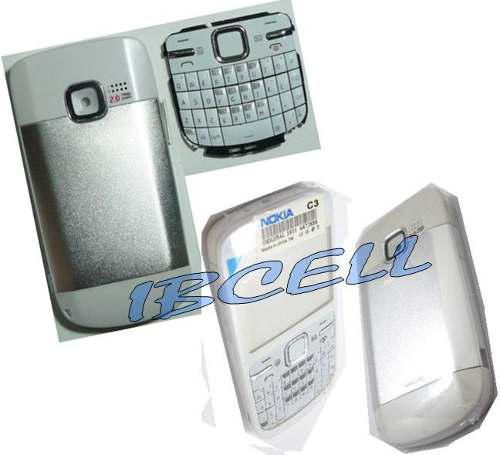 Carcasa Completa Nokia C3 Solo Blanca