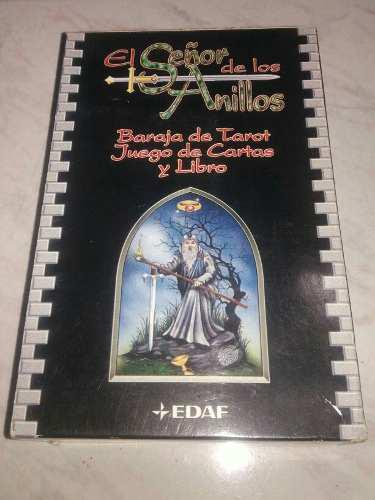 El señor de los anillos, baraja de tarot y juego de cartas