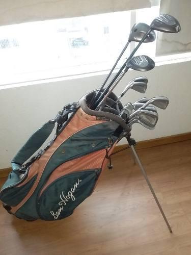 Juego Palos Zurdos De Golf Con Bolso Y 12 Pelotas Usadas