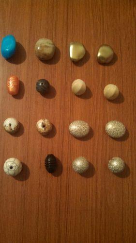 Paquete de 16 piedras variadas para bisutería