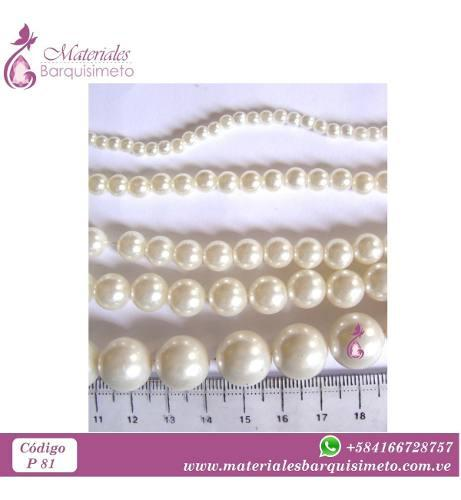 Perlas plasticas 4mm, 6mm