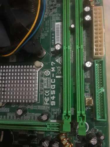 Placa madre 775 + procesador