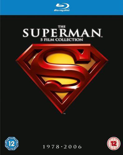 Superman colección de 5 películas 1978-2006 full hd 1080p