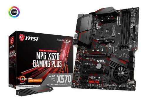 Tarjeta Madre Msi Mpg Gaming Plus Amd X570 Am4 Ryzrn 2 Y 3