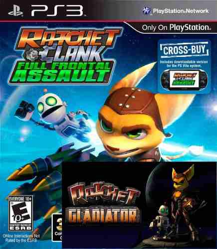 Ratchet and clank full front assult y deadlocked digital ps3