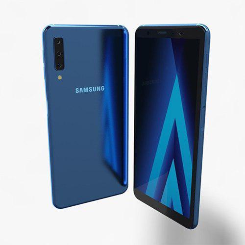 Samsung a7 2018 64gb 4gb ram 1 año de garantia