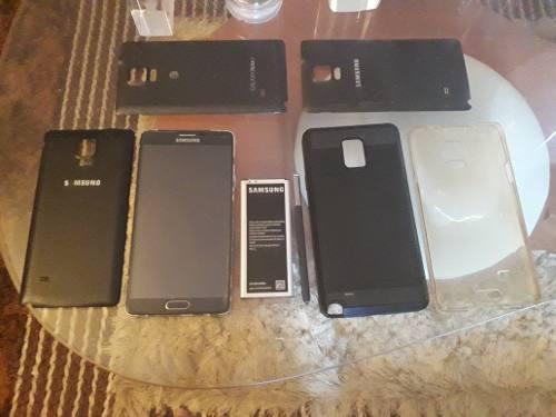 Samsung note 4 pantalla y accesorios