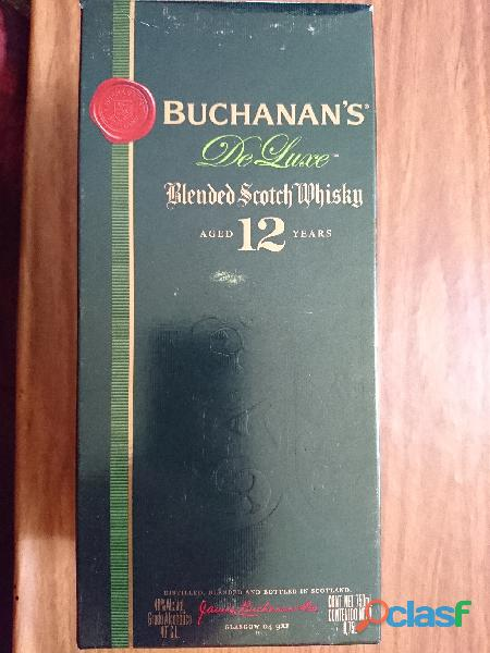 Vendo buchanan´s de luxe, blended scotch whisky, aged 12 years