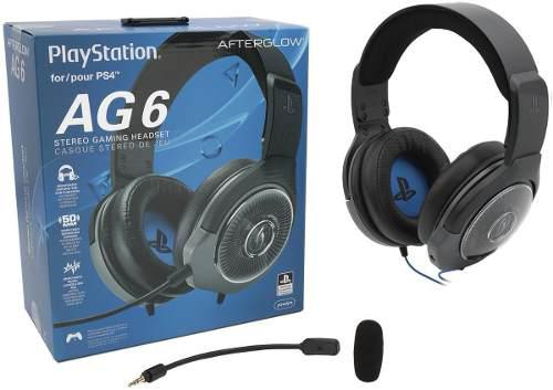 Auriculares stereo ag6 oficial sony ps4 (50vds)